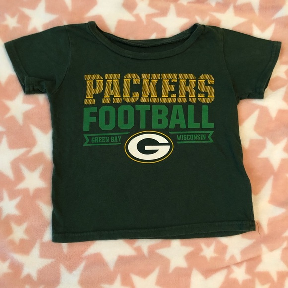 save off 69d3f 8260c Green Bay Packers NFL 2T Boys Shirt